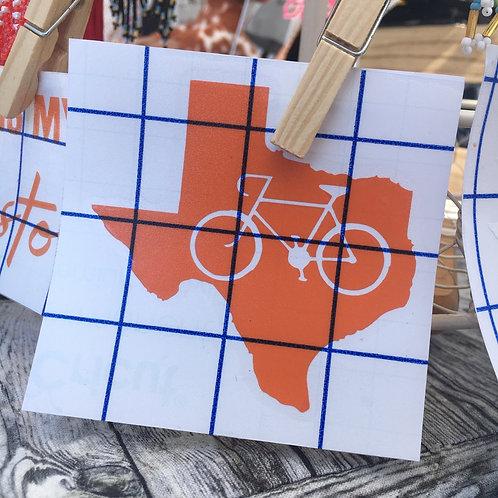 Bike Texas Decal