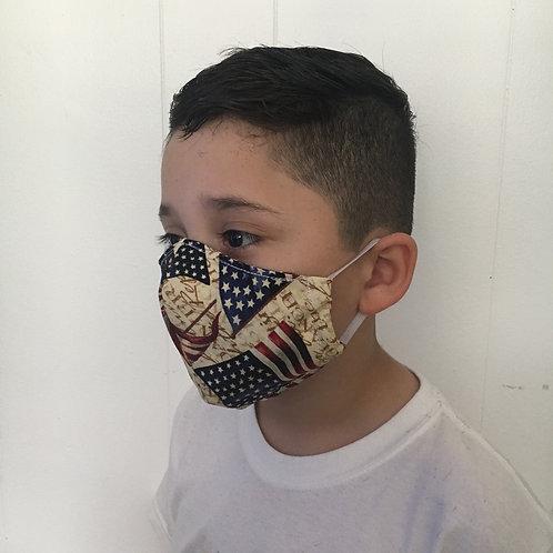U.S.A. Face Mask - Kids size