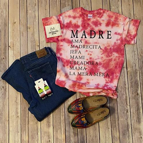 <Pre-Order> Madre Tie dye Red Tee