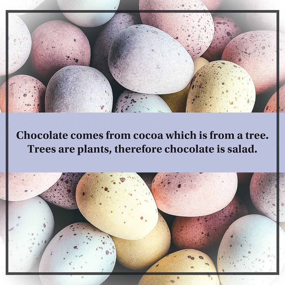 healthy chocolate quote