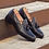 Thumbnail: Black Calf Leather Loafer