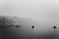 Brume matinale sur le Gange