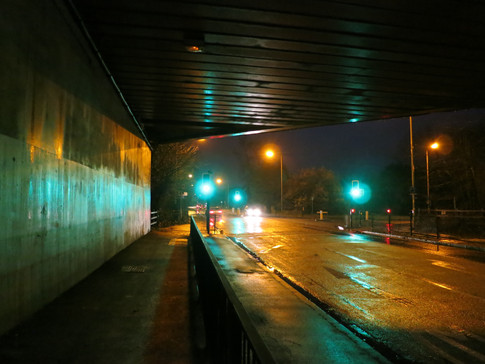 Underneath the M4, Reading Road