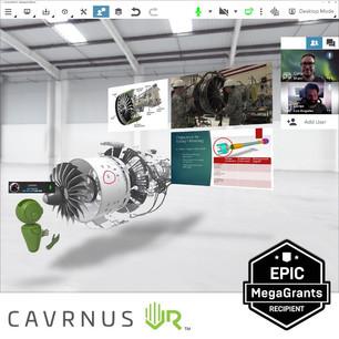 Portfolio Company News: Cavrnus Receives Epic Mega Grant