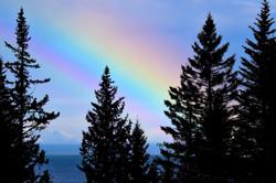 Rainbow in Alaksa