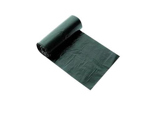 Мешок для мусора БЕЗ ЭТИК 60л 60х70 см, черный ПНД, 6,0 гр, 8 мкм, 30 шт/рул