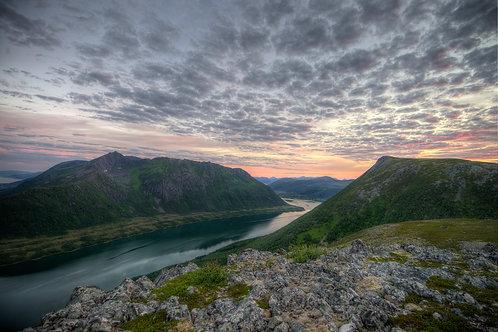 Sommer i Vesterålen - Veggfoto