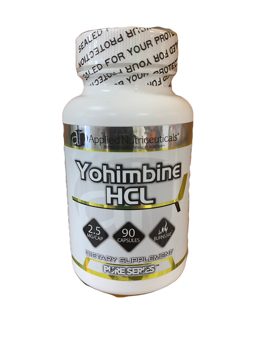 Applied Nutriceuticals Yohimbine 2.5mg 90 Caps