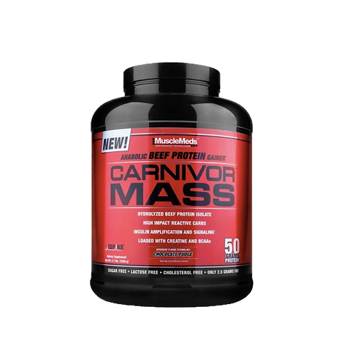 Muscle Meds Carnivor Mass Gainer Beef Protein 5 Pounds