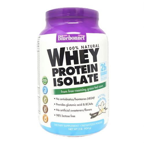 Bluebonnet 100% Organic Whey Protein 2 Pounds
