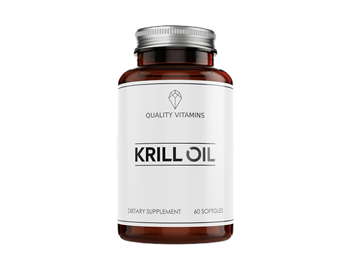 Quality Vitamins Krill Oil 60 Caps