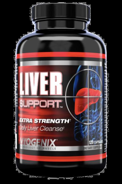 Myogenix Extra Strength Liver Fix 120 Caps
