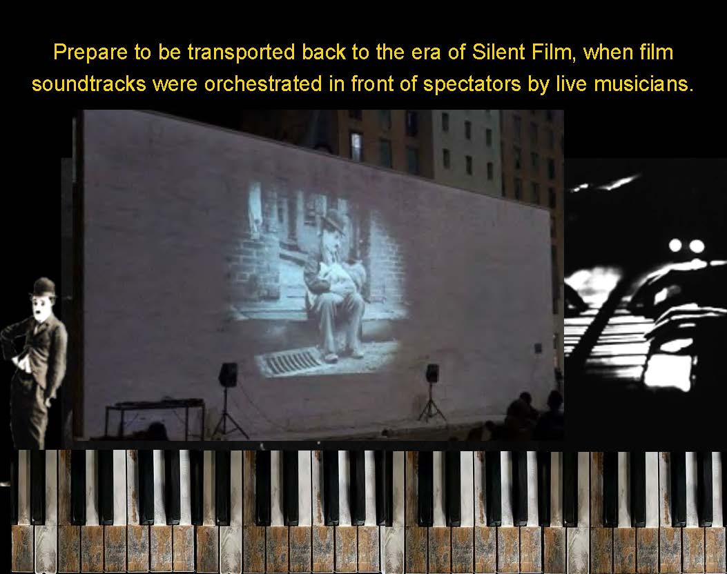 The Music of Silent Films - piano solo,