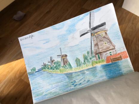 Rotterdam and Kinderdijk