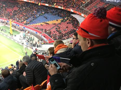 人生第一場球賽在阿姆斯特丹