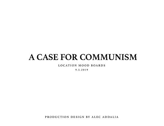 A Case for Communism  Moodboards COVER.j