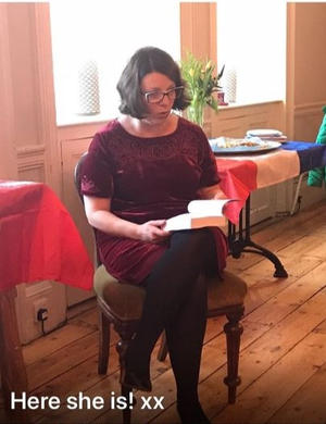 Book reading at Launch