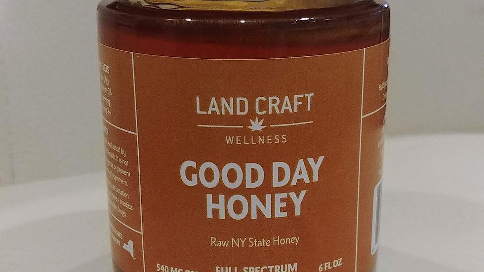Hemp Extract Infused Honey