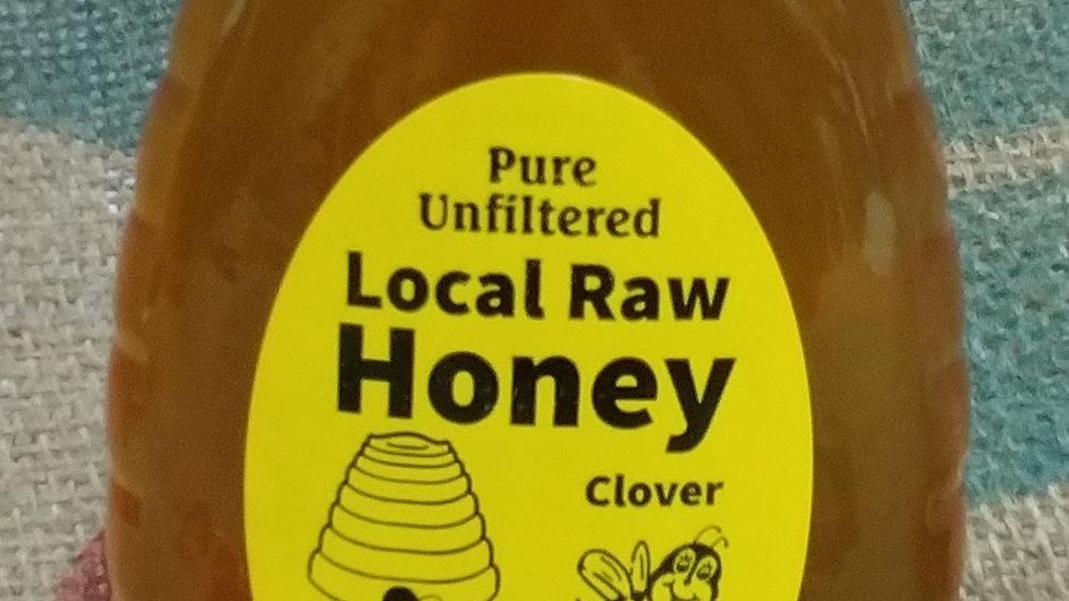 Raw Clover Honey