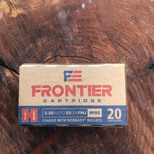 Hornady Forntier 5.56 $15.99