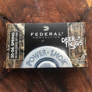 Federal 30-06 SPRG $28.99