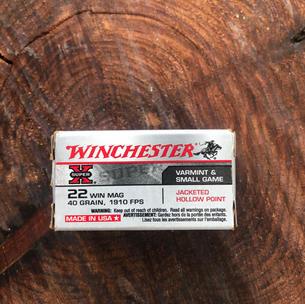 Winchester 22 Win Mag $13.99
