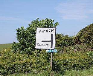 Dunure Roads