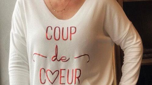 T-shirt  Coup de cœur