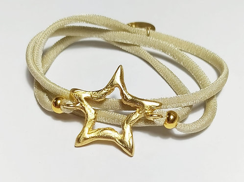 Pulsera Star Moku or beis