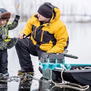 Особенности зимней рыбалки. Зимняя экипировка. Часть 1