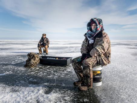 Особенности зимней рыбалки. Правила поведения на льду. Часть 2