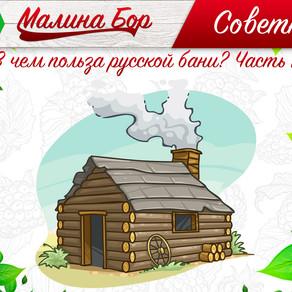 Советник от Малина Бора: В чем польза русской бани? Часть 1