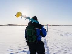 Ловля леща зимой. Часть 2