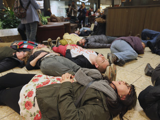 Flash Mob in Cherry Creek Mall Speaks Out to End Police Violence