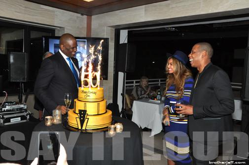 Big Jon, Beyoncé and Jay Z