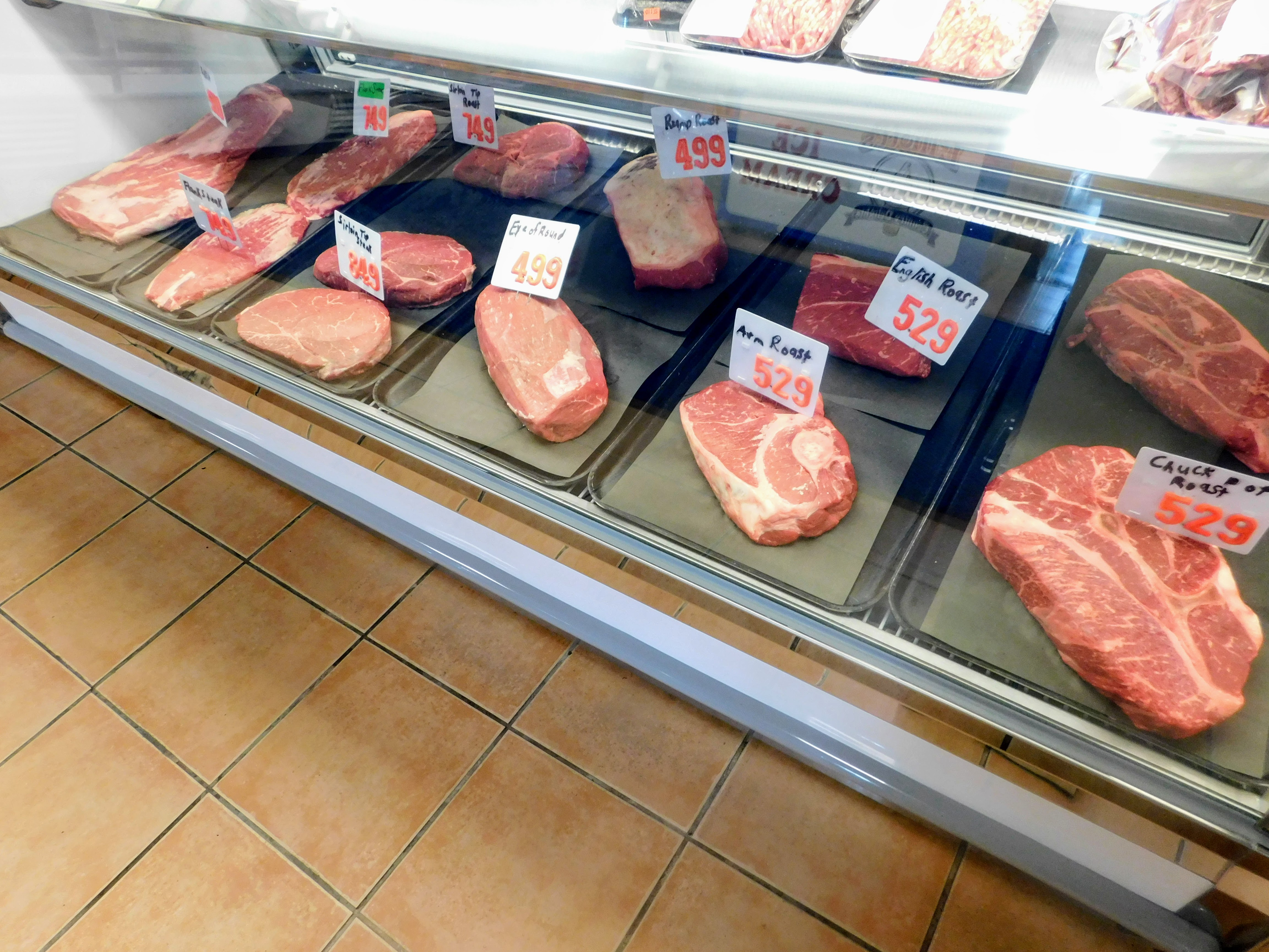 Heritage Meats Display Cooler