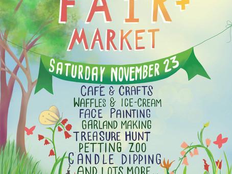 Spring Fair & Market 10am-1pm 2019