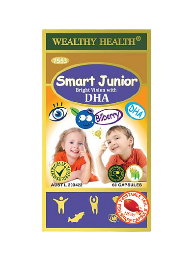 Smart Junior Bright Vision Capsules with DHA