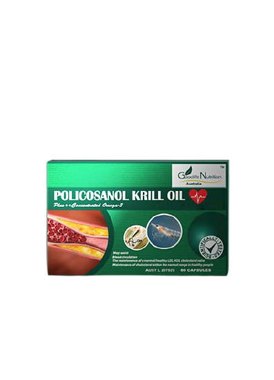Policosanol Krill Oil Plus Concentrated Omega - 3