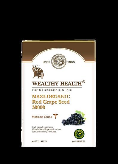 Maxi Organic Red Grape Seed 30000