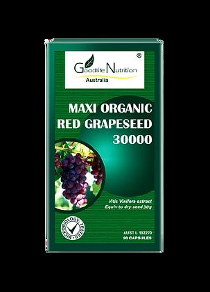 Maxi Organic Red Grapeseed 30000