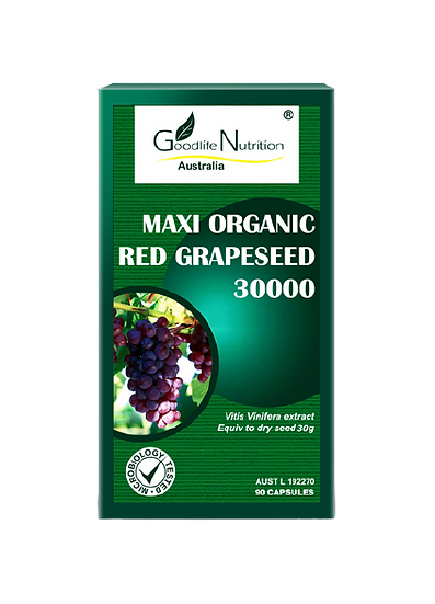 Maxi Organic Red Grapeseed 30000