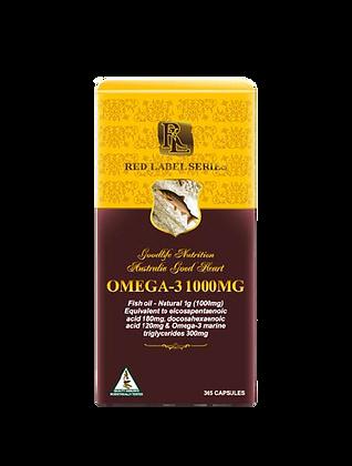 Wild Omega-3 Salmon Oil with Vitamin E 1000mg