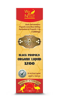 Black Propolis Organic Liquid 1200