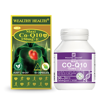 Maxi CoQ10 150mg + E Heart Health