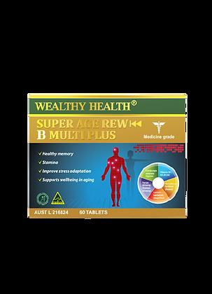 Super Age Rew B Multi Plus Health Vitamin Tablets