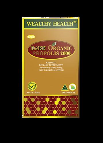 Dark Organic Propolis Capsules 2000