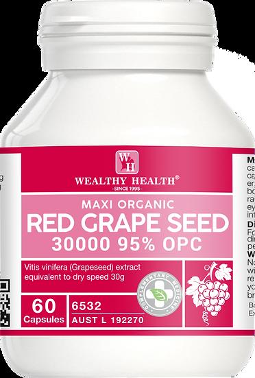 Maxi Organic Red Grape Seed Capsules 30000 95%OPC
