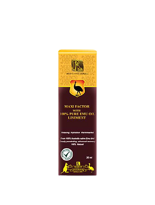 Maxi Factor with 100% Pure Emu Oil Liniment