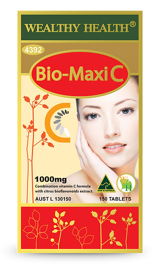 Bio-Maxi C Tablets 1000mg 150 Tablets